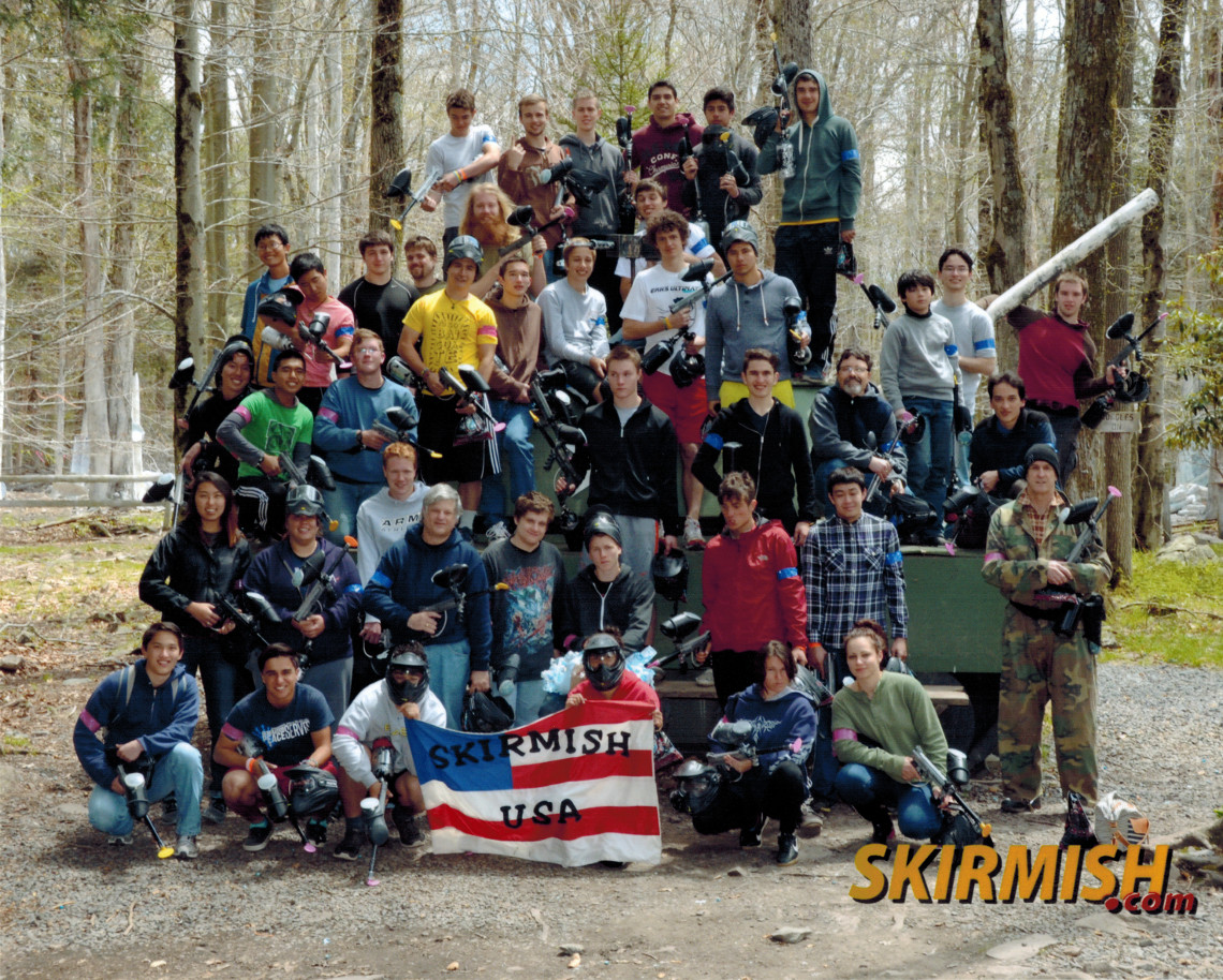 Photo of all the 2014 Shehaqua Paintball players